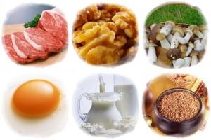 Никотиновая кислота в продуктах питания