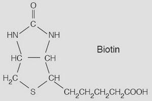 Структурная формула биотина