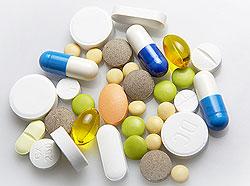 Фармацевтические препараты с витаминами для сосудов