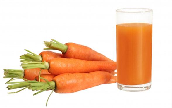 Витамины в морковном соке