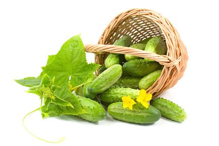 какие витамины содержит огурец