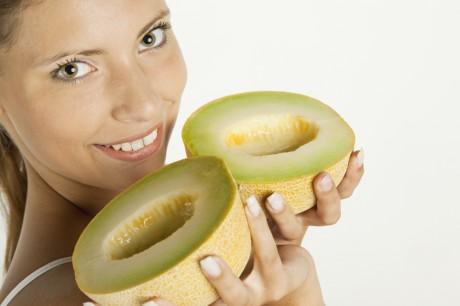 Полезные витамины в дыне