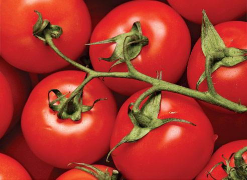 Витамины в красных помидорах