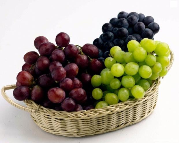 Витамины в разных сортах винограда