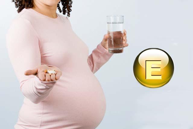 Витамин Е и беруменность
