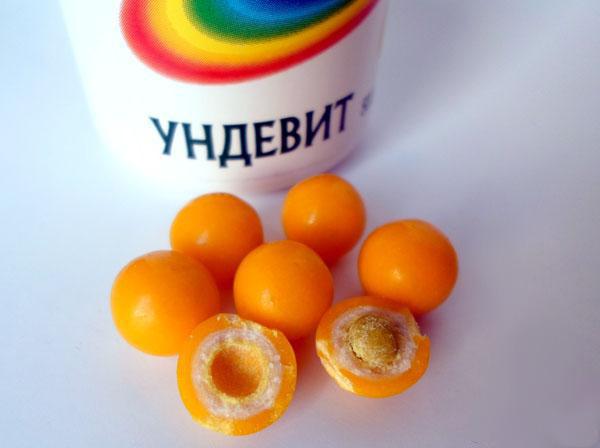 Ундевит - состав
