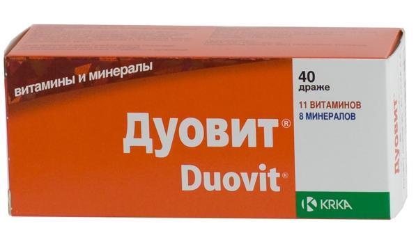 Витаминный комплекс Дуовит