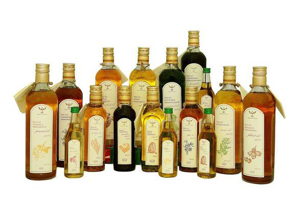 Растительные масла различных сортов