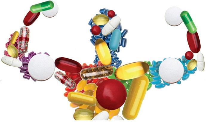 Витамины полезные при занятиях спортом