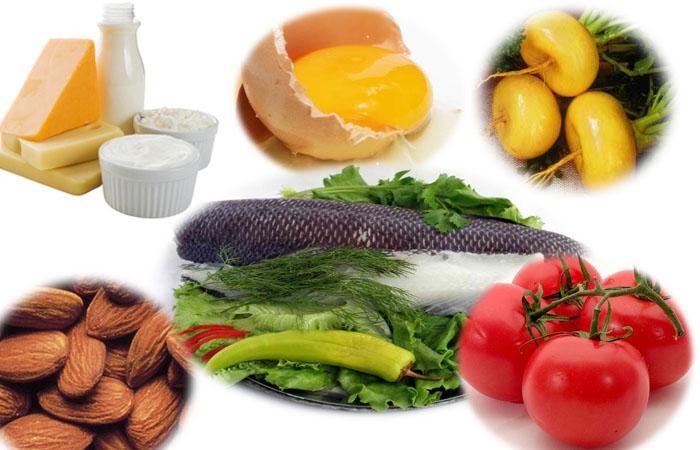 Продукты содержащие рибофлавин
