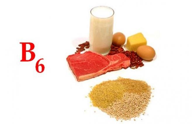 В каких продуктах содержится пиридоксин B6