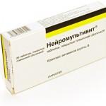 Препарат Нейромультивит для нервной системы и правильного обмена веществ